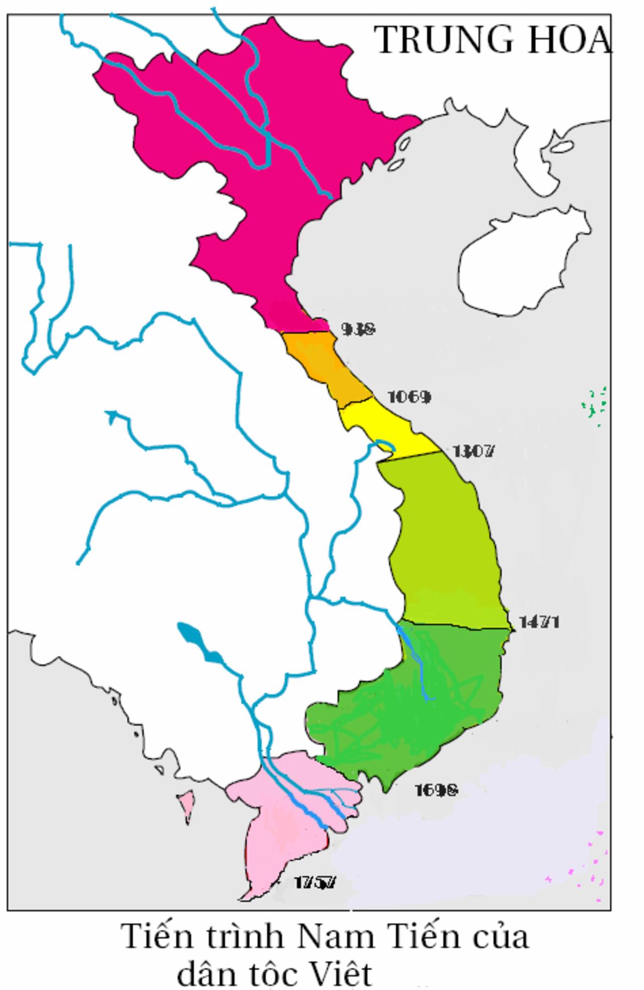 Lanh Thổ Việt Nam Qua Từng Thời Kỳ Người Kể Sử